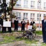Salwa armatnia na cześć Dyrektora Tysiąclecia - Adama Kozińskiego